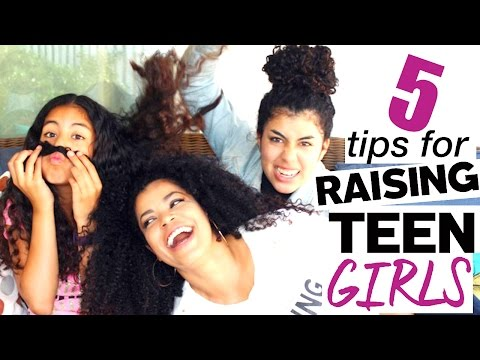 5 Parenting Tips for Raising Teen Girls | Daily from Millennial Moms
