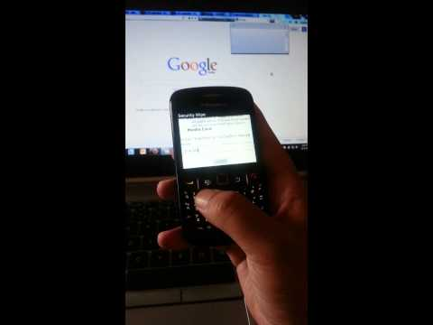 Delete all contacts on BlackBerry