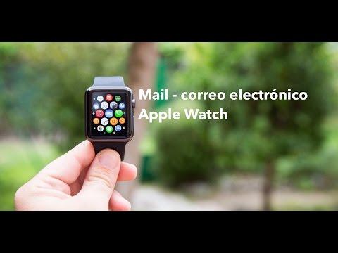 Funcionamiento app Mail correo electrónico Apple Watch