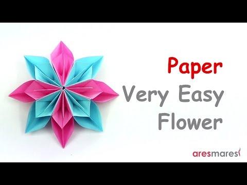 Paper Very Easy Flower (easy - modular)