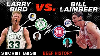 Larry Bird and Bill Laimbeer have genuinely hated each other for over 30 years