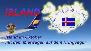 Island im Oktober - mit dem Mietwagen entlang der Ringstraße!