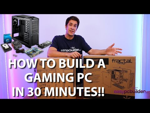 How to Build a PC in 30 minutes with EasyPCBuilder! - Gaming PC