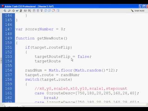 Flash Shooter Game 10 - Actionscript 2.0
