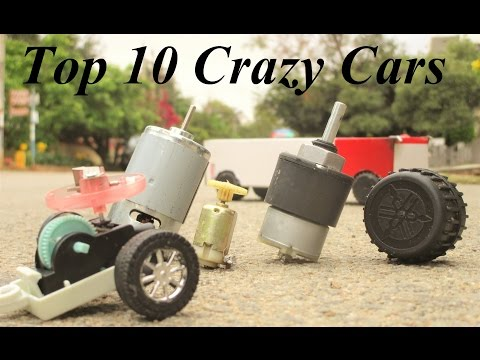 10 useful things from dc motor - 10 type cool cars