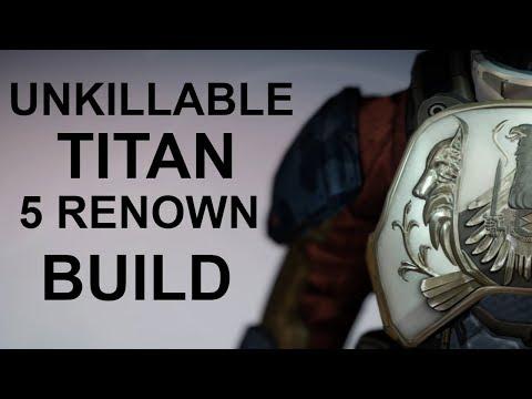 UNKILLABLE TITAN SOLO 5 renown Build - Faction Rally Destiny 2 season 3