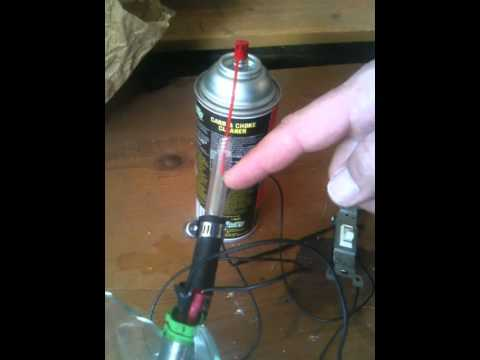 DIY Toyota Camry Fuel Injector Cleaning Machine