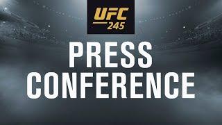 UFC 245: Usman vs Covington Press Conference