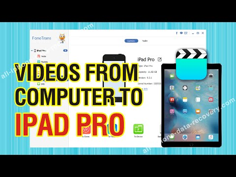 How to Transfer Videos from Computer to iPad Pro without iTunes