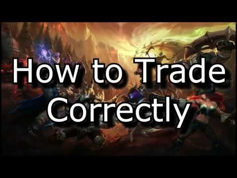 How to Trade Correctly - Trading/Harassing Guide | League of Legends LoL