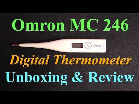 Omron MC 246 Digital Thermometer Review | Som Tips