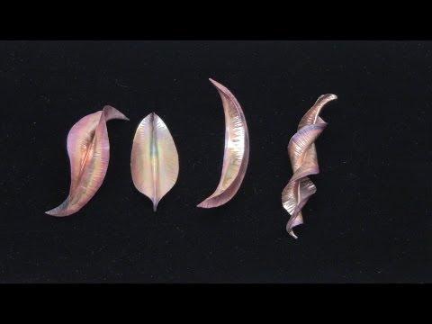 Foldformed Copper Shapes: A YouTube Favorite