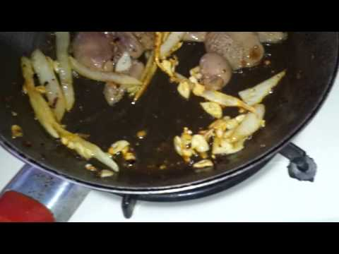 Rabbit hearts and gizzards