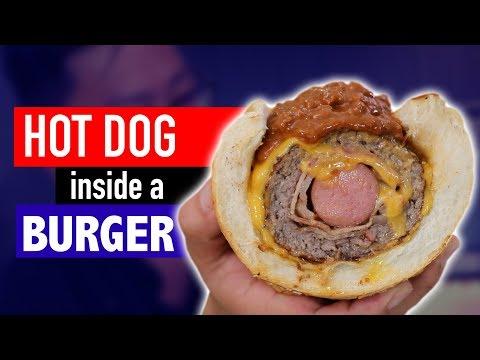 Xxx Mp4 HOT DOG INSIDE A BURGER VERSUS 3gp Sex