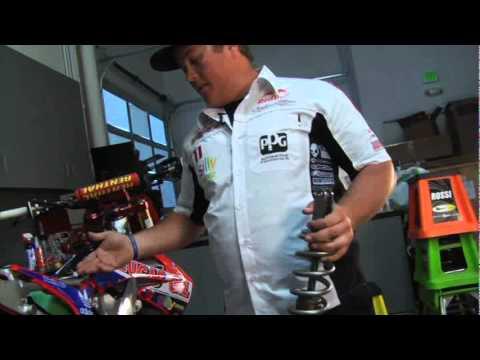 Dirt Bike Rear Shock Removal