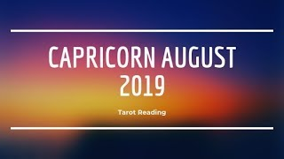 Capricorn Love July 2019 ♡ Amazing month for love! Go with the flow