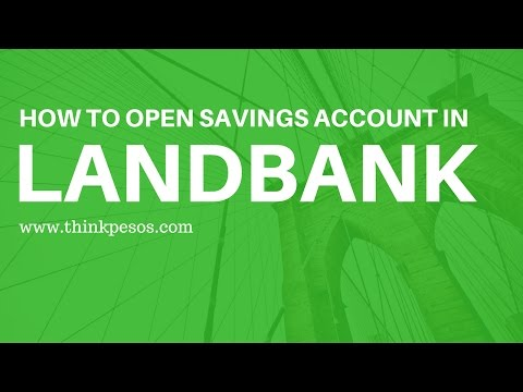 How to open basic savings account in Landbank