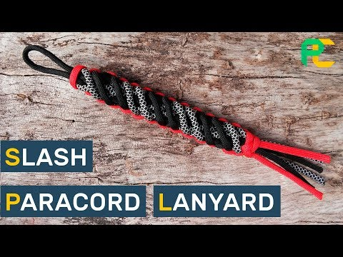 How to make a  Slant-Wrapped Endless Falls Paracord Lanyard