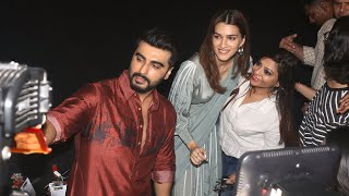 Kriti Sanon And Arjun Kapoor Visits Theater For Audience Reaction For Film PANIPAT