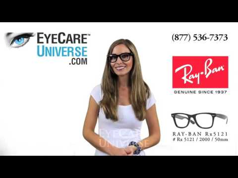 Ray Ban Rx 5121 2000 Shiny Black 50mm Quick Review