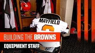 How the Browns Equipment Staff Preps for Gameday   Building the Browns 2019