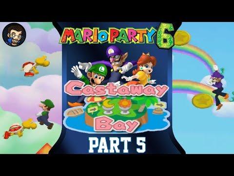 Mario Party 6 | Castaway Bay - Part 5/7