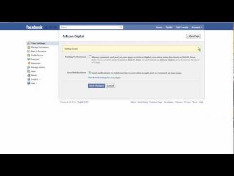 Rick'sTips: How to Post on Your Facebook Business Fan Page as Yourself