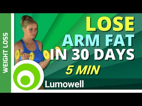 5 Minute Workout to Lose Arm Fat in 30 Days