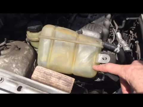 How To Fix A Leaky Coolant Overflow Tank