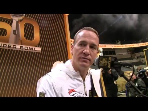 Peyton Manning on HGH allegations: 'It's simply not true' | Super Bowl 50 Opening Night