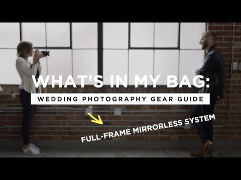 What's In My Camera Bag: Wedding Photography Gear Guide (2018)| CreativeLive