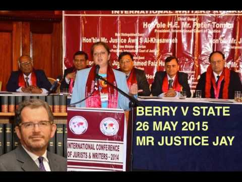 NEELU BERRY V STATE: UK High Court Transcript before Mr Justice Jay 26 May 2015