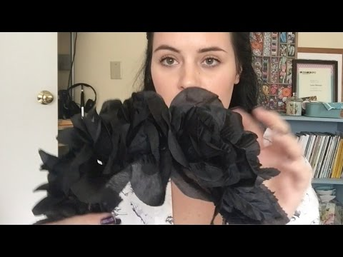 DIY Black Flower Crown - Cheap and Easy DIY Halloween Costume