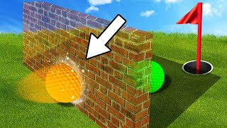 SMASH THROUGH THE INVISIBLE WALLS! (Golf It)