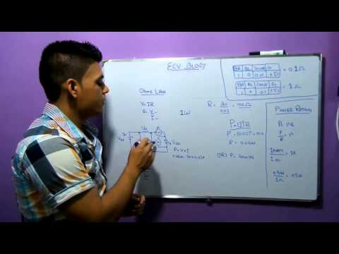 ECV blog#5 How to calculate resistor value for circuit designs