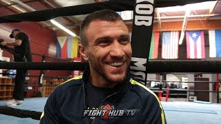 """LOMACHENKO DISSES TANK DAVIS """"YOU NEVER FIGHT IN MAIN EVENT, I'LL FIGHT YOU FOR FREE!"""""""