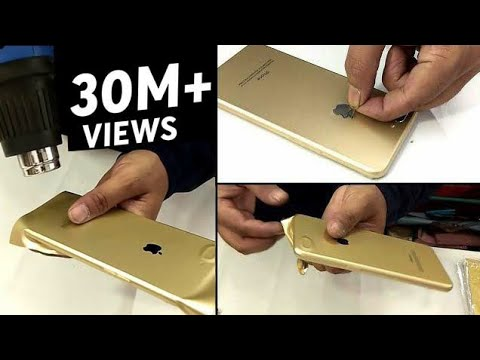 Realme C1 Converted in Iphone XR apple lamination trick