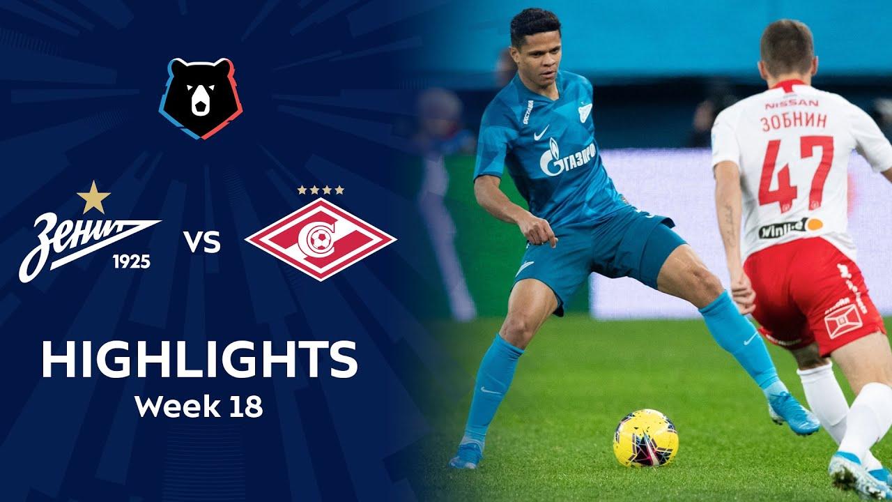 Highlights Zenit vs Spartak (1-0) | RPL 2019/20