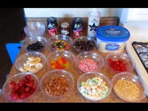 How to set up an ICE CREAM BAR - 99 CENTS ONLY store style !