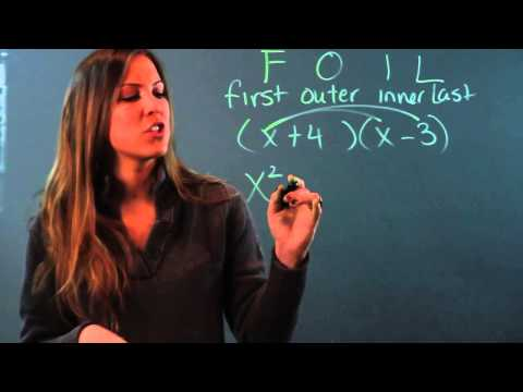 How to Find the Product of Binomials