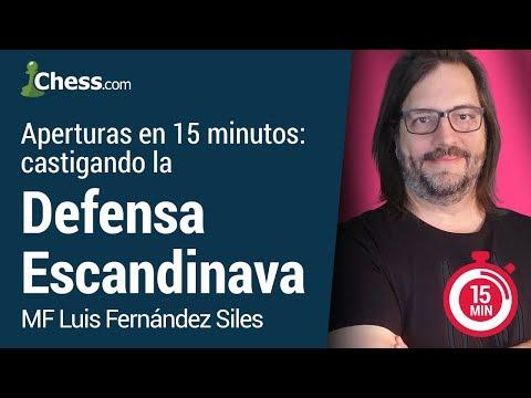 Aperturas de Ajedrez en 15 minutos. Castigando la Defensa Escandinava
