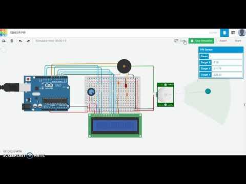 Arduino Laboratorio4 Simulación - Sensor PIR