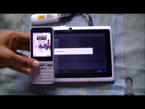 Install WhatsApp on a Wi-Fi Tablet PC