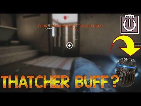 THATCHER BUFF?? - Rainbow Six Siege