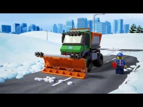 Lego City | 60083 | Snowplow Truck | Lego 3D Review