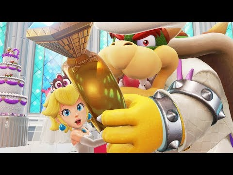 Super Mario Odyssey - All Cutscenes Full Movie HD