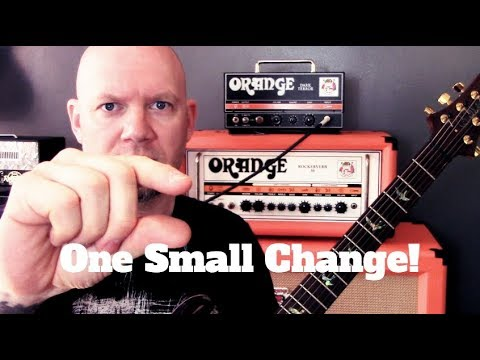 One Small Change That Could Dramatically Improve Your Guitar Playing