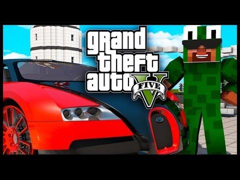 Minecraft - GTA V Mod - Grand Theft Auto 5 - SNIPERS, SHOTGUNS, CARS & CASINOS!