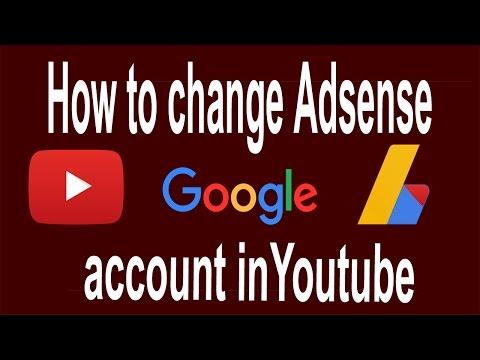 How To Change Adsense Account On Youtube 2018 |youtube adsense changes