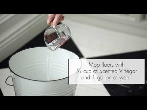 How To Use Scented Vinegar for Laundry & Home Cleaning by The Laundress
